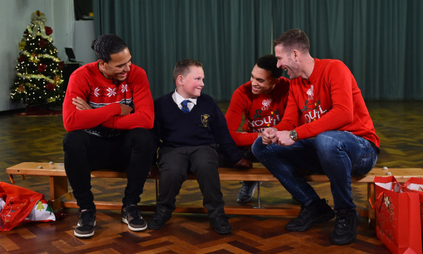 Liverpool FC Christmas Surprise 2019