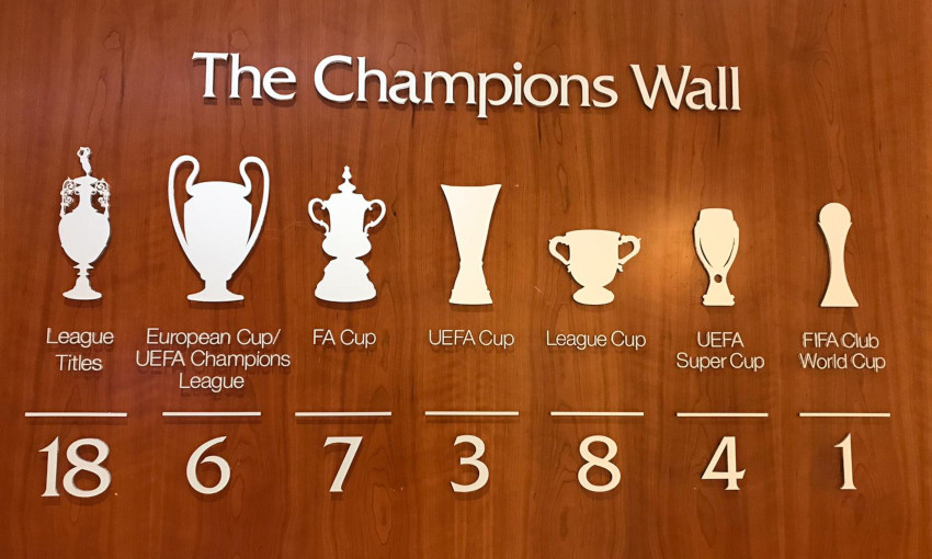 Melwood Champions Wall - FIFA Club World Cup upgrade