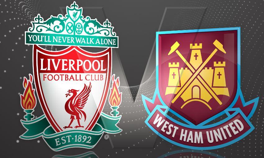 Image result for Liverpool vs West Ham United