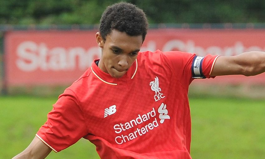 Image result for trent alexander-arnold as a child