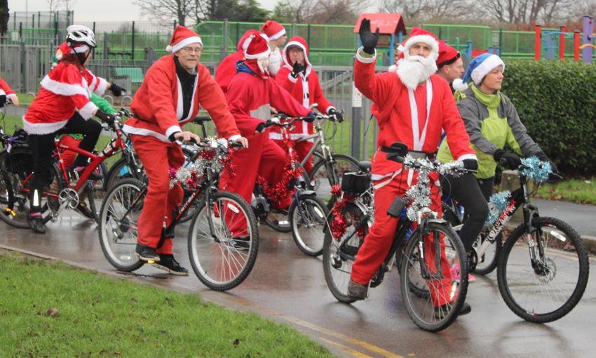 Santa Cycle