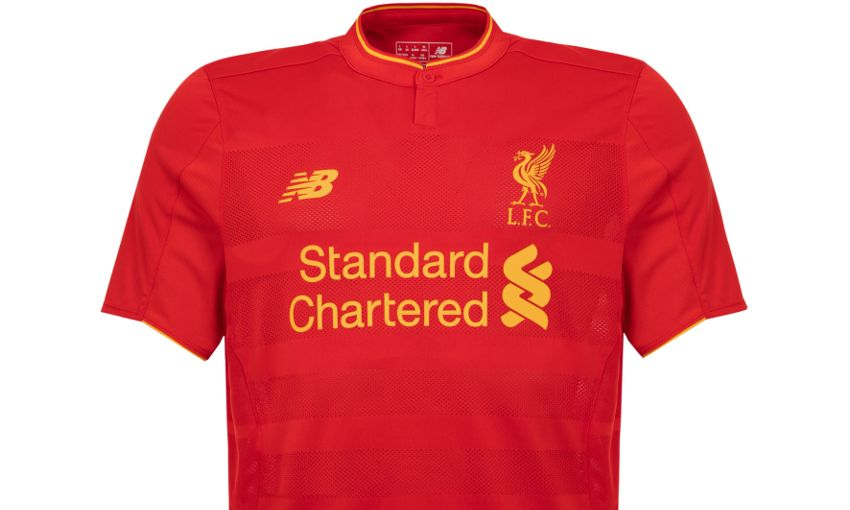 166494485 Revealed  Liverpool FC s brand new home kit for 2016-17 - Liverpool FC