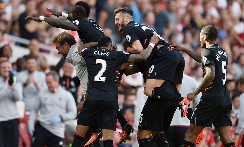 Liverpool holds high-flying Arsenal away, stays unbeaten in Premier League