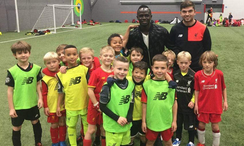 Sadio Mane Pays Surprise Visit To Academy Soccer School