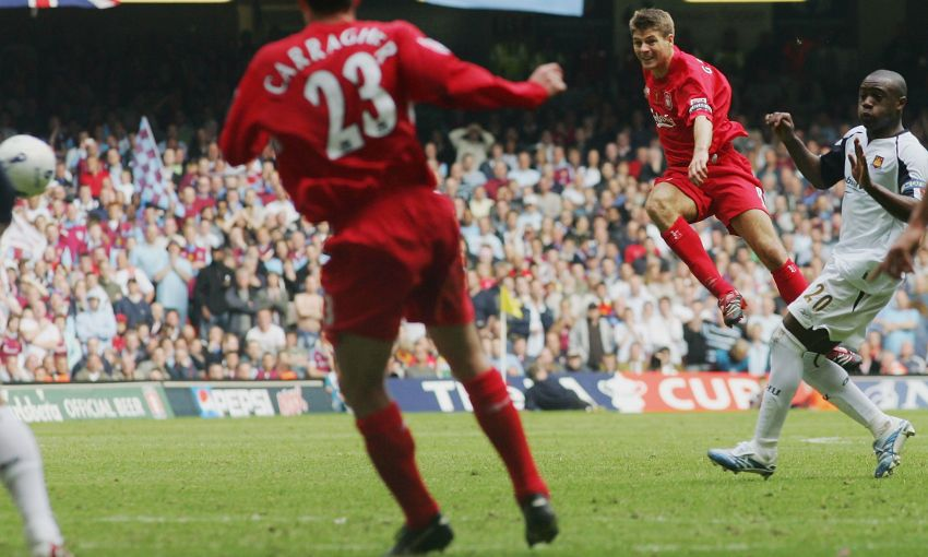 steven gerrard top goals