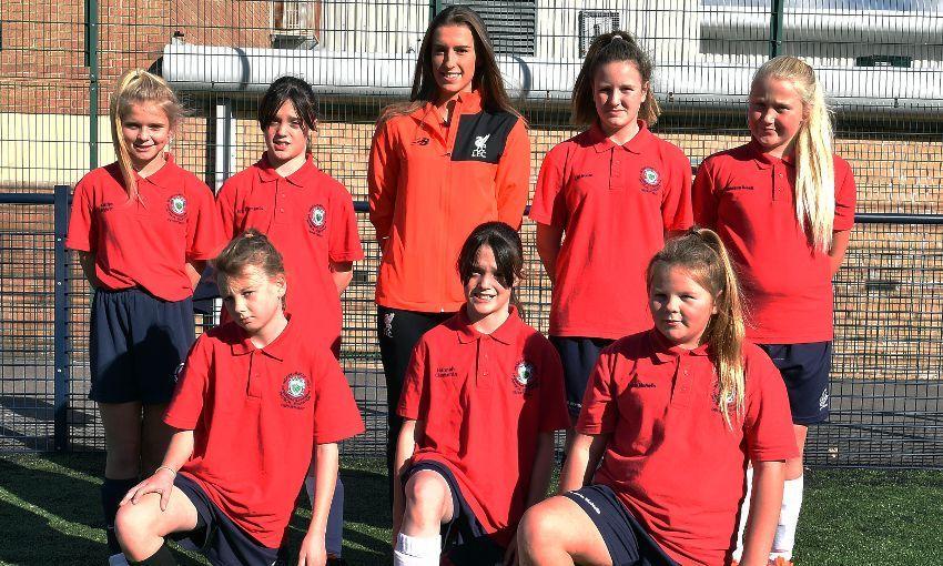 Reds celebrate Girls' Football Week with LFC Foundation