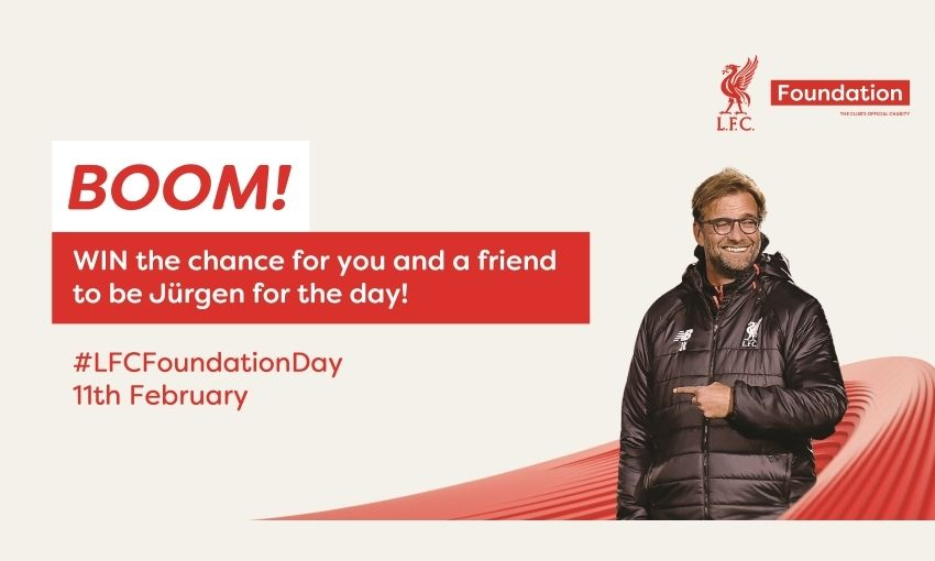 WIN the chance to be Jürgen for the day!