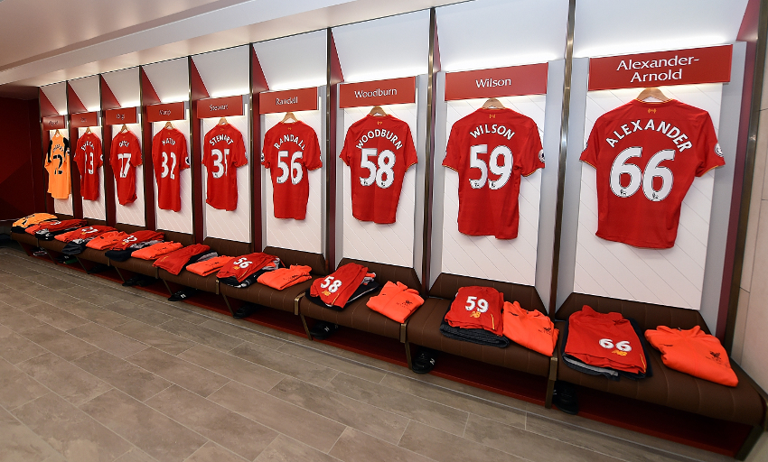 Photos and video: Reds\' new Anfield dressing room unveiled ...