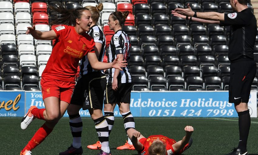 LIVERPOOL LADIES V NOTTS COUNTY