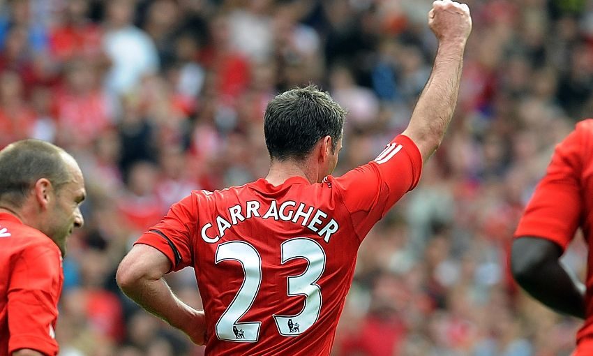 Former Reds pay compliments to Jamie Carragher