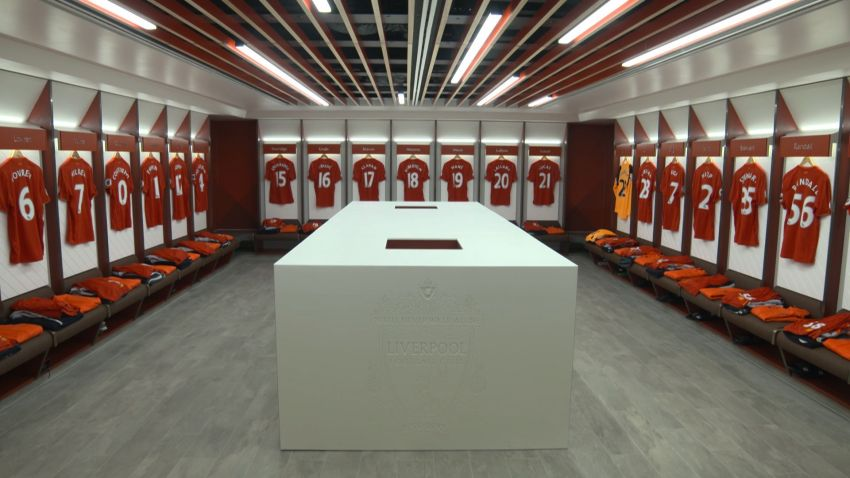 New Anfield Changing Rooms