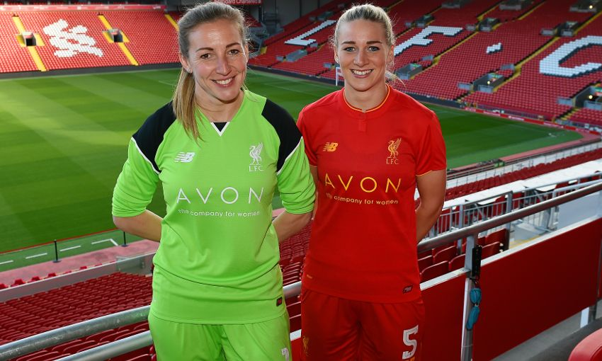 online store a6756 c1d94 Liverpool Ladies FC announce first shirt sponsorship deal ...