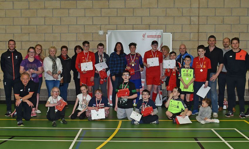 LFC Foundation hosts Premier League/BT Inclusion project week