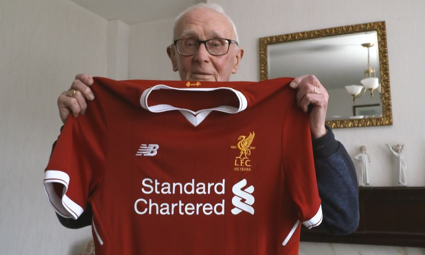 1db358e5eff Pure Liverpool for 94 years - watch Charlie s story - Liverpool FC