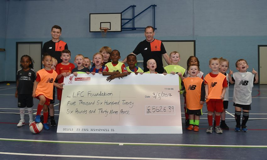 LFC Foundation receives donation from Run for the 96 5K