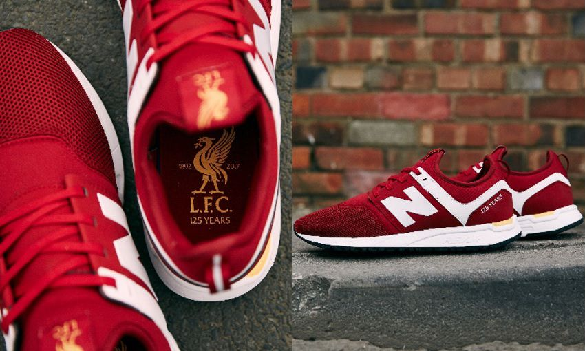 LFC New trainer and with launch Balance footwear new range PwN8nOkZ0X
