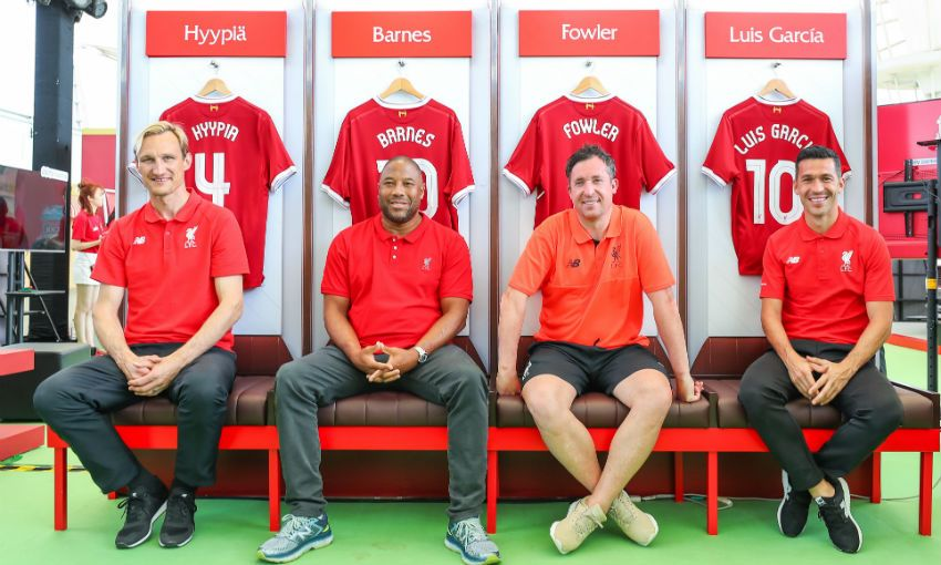 Photos legends meet fans as lfc world shanghai begins liverpool fc next article m4hsunfo