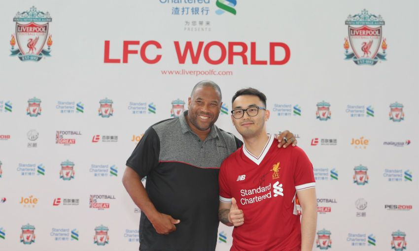 Lfc world continues with meet and greets in shanghai liverpool fc view a full gallery below m4hsunfo
