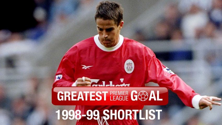 Liverpool 39 s greatest premier league goal 1998 99 for Epl table 1998 99