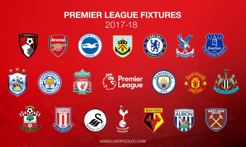 Revealed: Liverpool's fixture list for 2017-18 - Liverpool FC