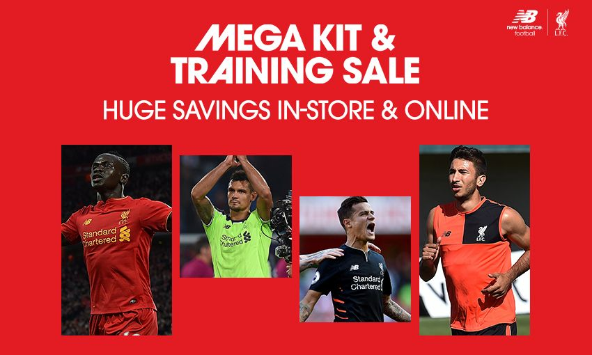 Mega sale of 2016-17 kit and training wear now on - Liverpool FC 1bc145e51