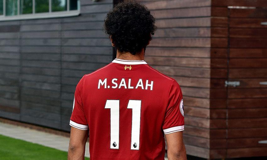Maillot Extérieur Liverpool Mohamed Salah
