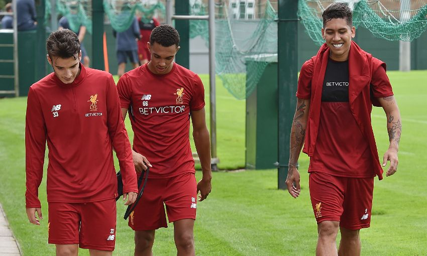 More Melwood Photos Day One Of Pre Season Training
