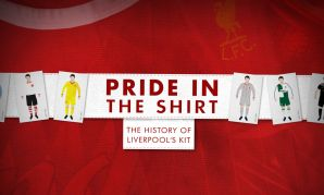 Pride in the Shirt - A History of Liverpool's Kit
