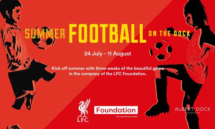 Football on the Dock - Free Football Coaching this Summer