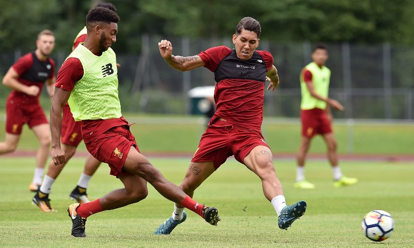liverpoolfc.com - Explained: The ideas behind Reds' unusual 11 v 11 training game
