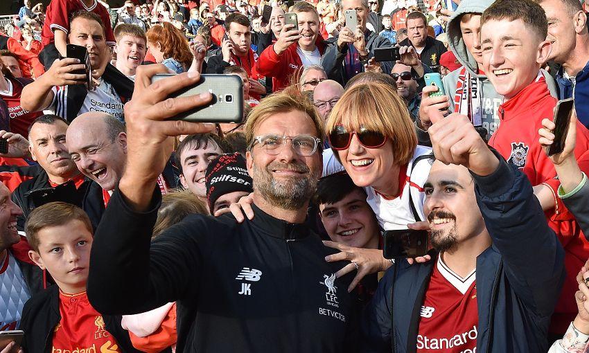 Jürgen Klopp Liverpool Fans