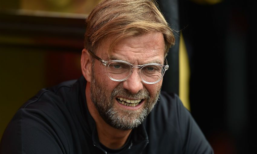 Jürgen Klopp's update on transfers - Liverpool FC 2017-08-18 00:55