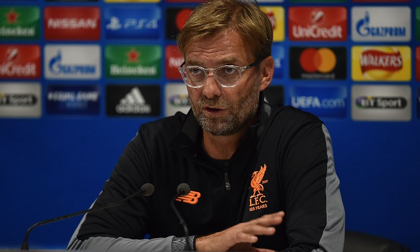 Image result for liverpool hoffenheim press conference