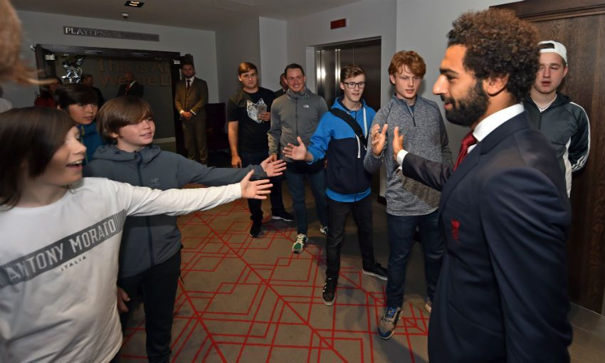 Red Neighbours and LFC Foundation create memories for local fans