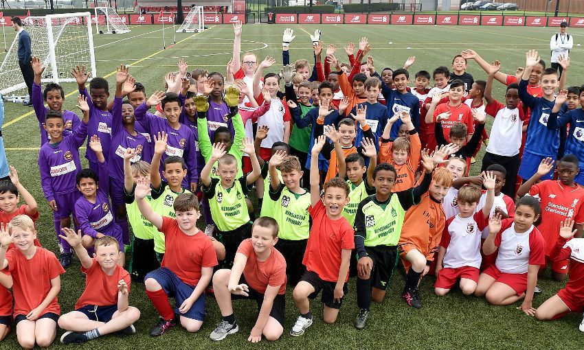 Thousands of youngsters enjoy LFC Foundation summer activities