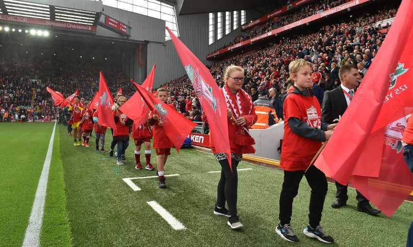 Young fans help celebrate LFC's 125th anniversary