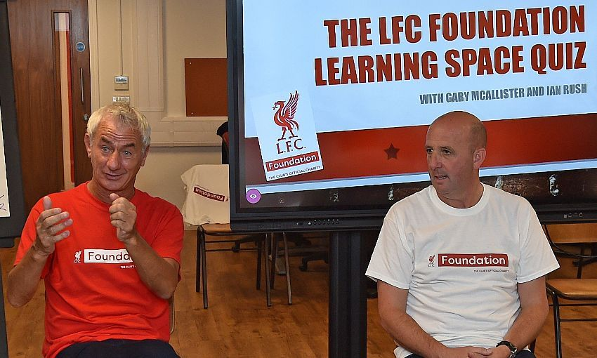 Reds stars launch Anfield space to boost employabilit