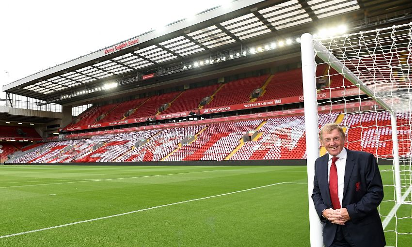 Liverpool FC officially unveil the Kenny Dalglish Stand ...