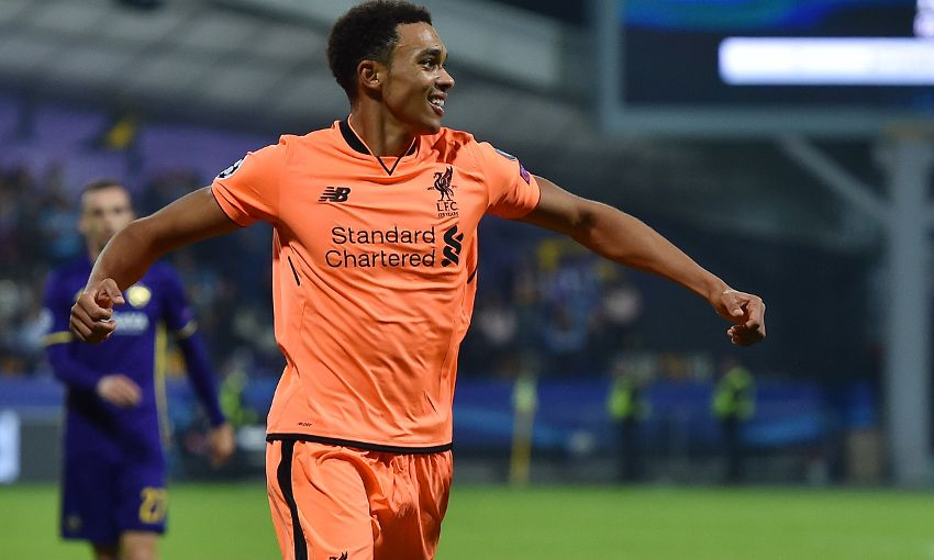 Trent on goals, clean sheets, momentum and Spurs