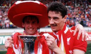 KENNY DALGLISH IAN RUSH