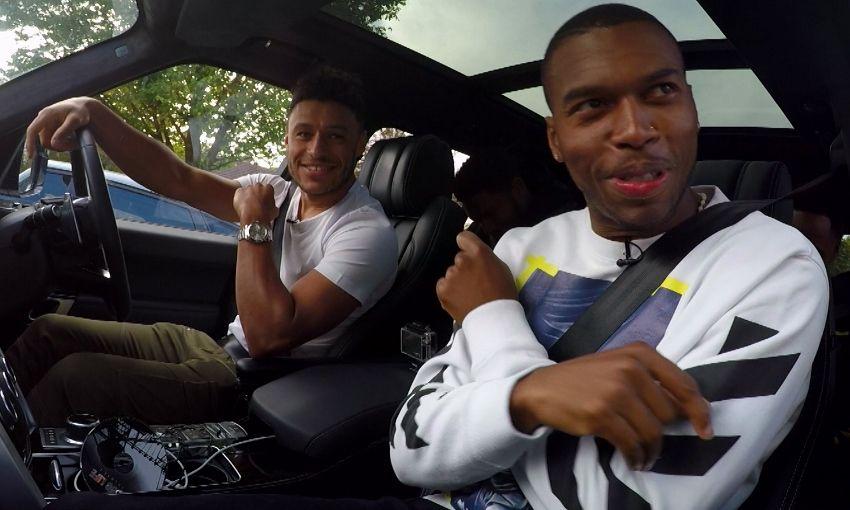 liverpoolfc.com - Watch: Oxlade-Chamberlain, Sturridge and co star in LFC Carpool