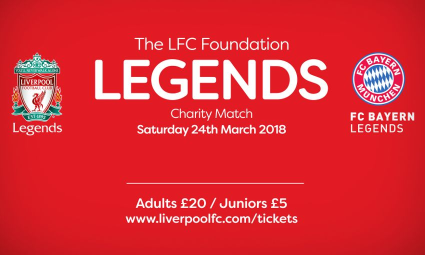 Legends Charity Match