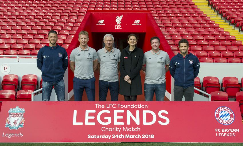 Lfc Legends To Face Bayern Munich At Anfield Liverpool Fc