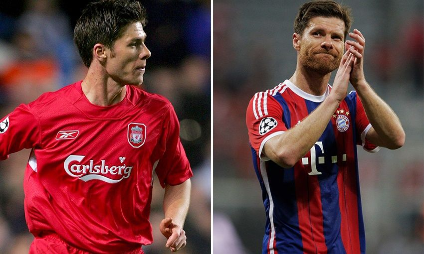 Bayern Liverpool Detail: Xabi Plus Four: Five Men Who Played For Liverpool And