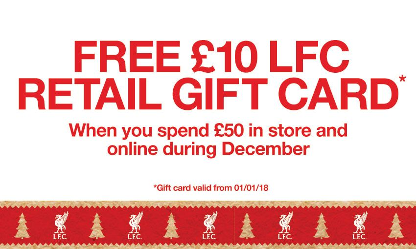 Free 10 gift card when you spend 50 liverpool fc next article negle Images