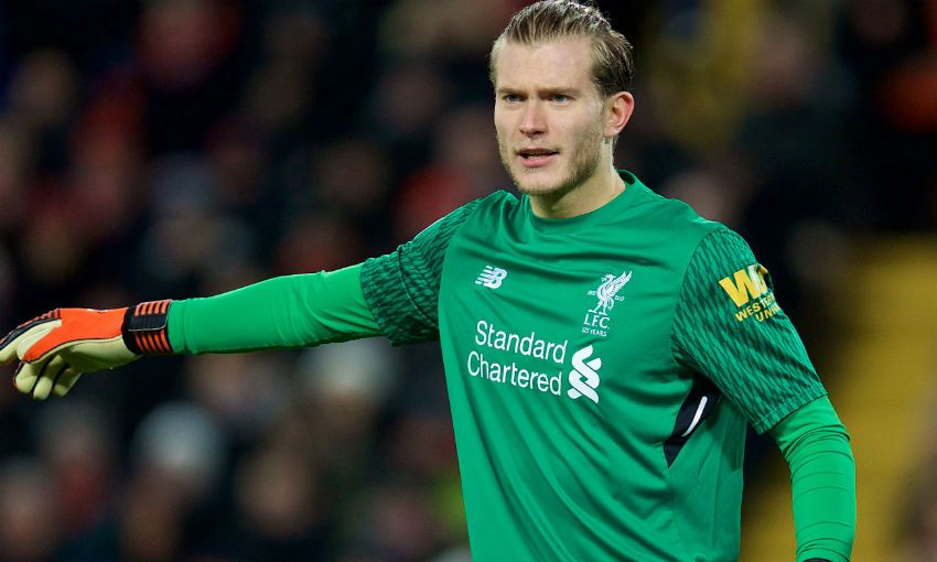 Loris Karius eyeing improvement on 'pretty good' form ...