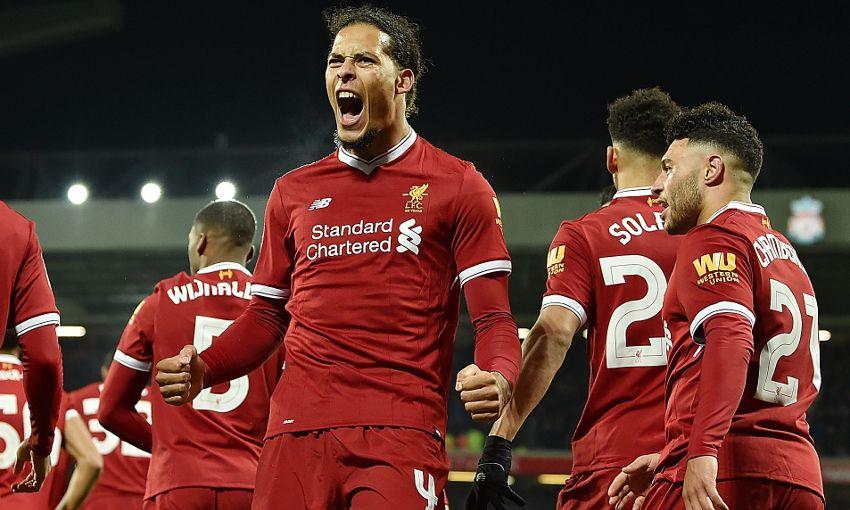 d76c93b61 Match report  Debutant Van Dijk settles FA Cup derby - Liverpool FC