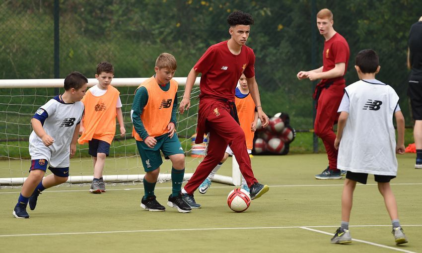 Community events with the LFC Foundation this week