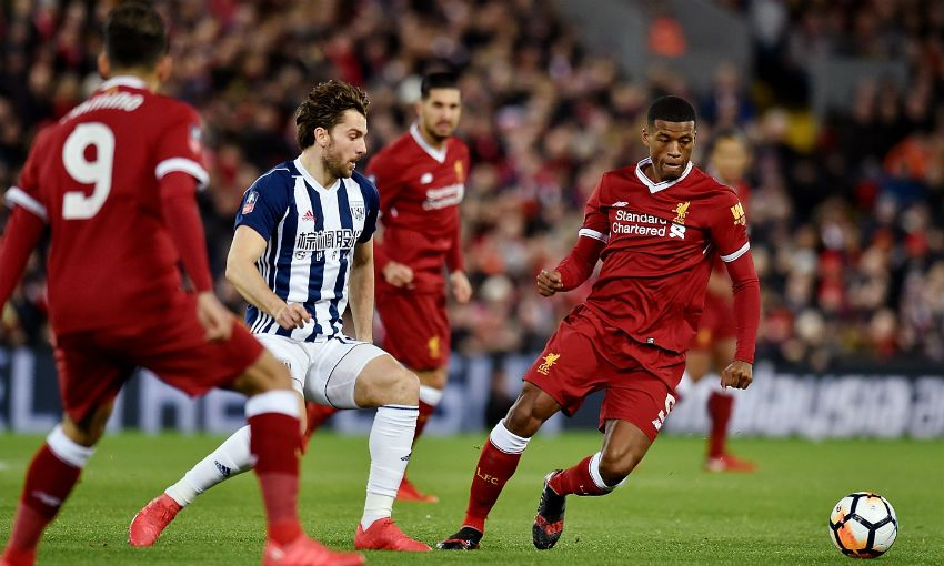 b93810457 Match report  Reds out of FA Cup with West Brom defeat - Liverpool FC