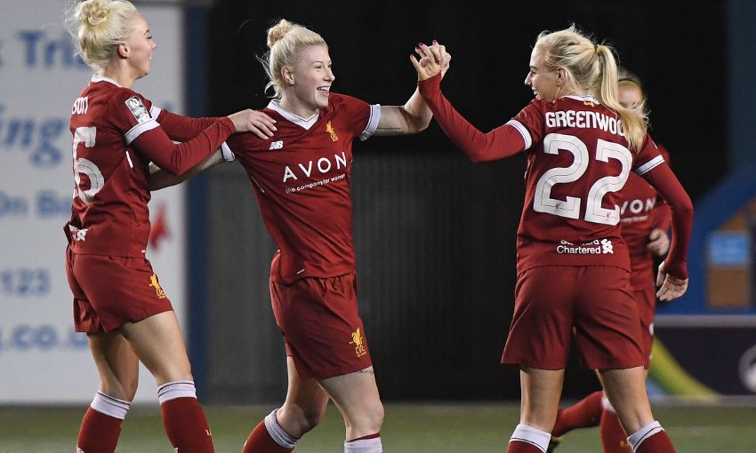 LIVERPOOL LADIES V BRISTOL CITY